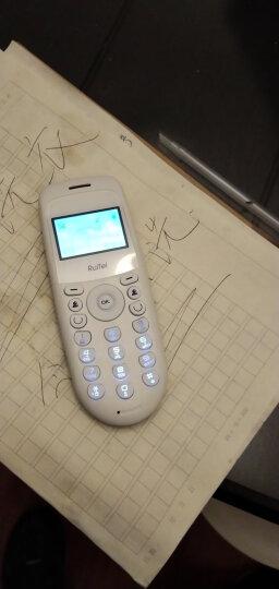瑞恒  无线插卡座机  无线固话  固定无绳电话机  移动铁通SIM卡 加密卡 办公家用会议 老人机 5811移动座机卡版 晒单图