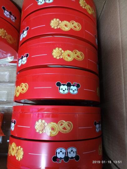 迪士尼(disney)滨崎牛油曲奇 早餐糕点零食饼干铁盒238g(有新旧包装随机发货) 晒单图