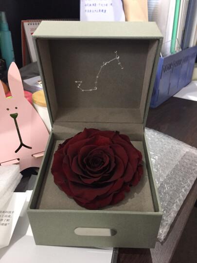 SEEROSE 十二星座进口永生花保鲜玫瑰花礼盒3.8女王节情人节表白送女生生日礼物 天蝎座 星座对应守护色 晒单图