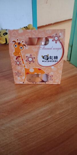 德立(DOLO) 烘焙包装 玫瑰牛轧糖包装盒 饼干糖盒糖纸开窗点心包装礼品盒 手提袋 游乐场盒10个 晒单图