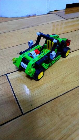 邦宝小颗粒拼插积木儿童玩具车男孩拼装-光影猎豹6962 晒单图