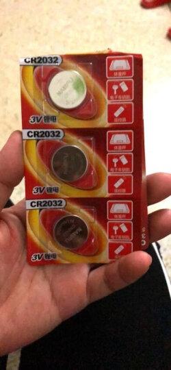 南孚 纽扣电池CR2032 5粒装 锂电池3V主板机顶盒电子体重秤手表汽车钥匙遥控器万用表电池圆形 晒单图