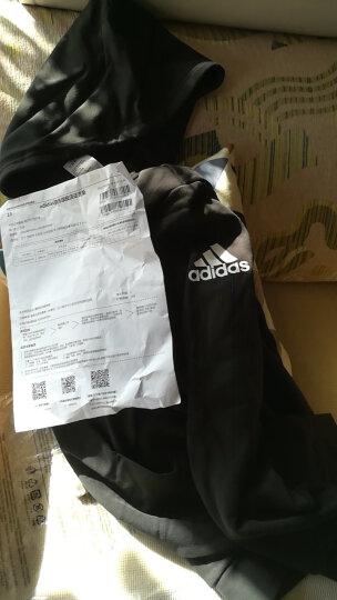阿迪达斯adidas 官方 运动型格 男子 针织夹克 黑 BK3717 如图 M 晒单图