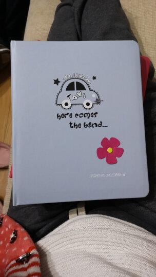 亮丽(SPLENDID)相册 影集 4D大6寸200张 蓝色 卡通皮质盒装插页式相片册 照片册 儿童成长宝宝家庭 晒单图