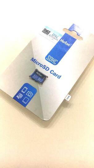 朗科(Netac)32GB 内存卡 高速行车记录仪监控摄像手机存储卡 Class10 UHS-I TF(MicroSD)卡 科技蓝 晒单图