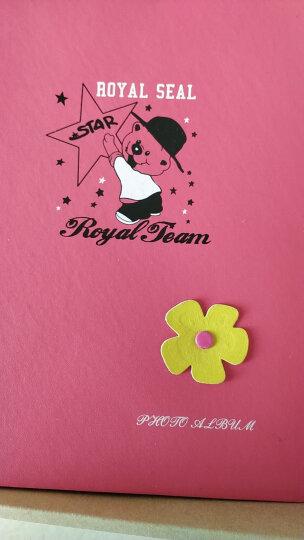 亮丽(SPLENDID)相册 影集 4D大6寸200张 粉色 卡通皮质盒装插页式相片册 照片册 儿童成长宝宝家庭 晒单图