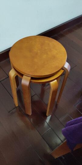 施豪特斯(SHTS)凳子 餐凳曲木凳餐椅ST-9821 蜜糖色 晒单图