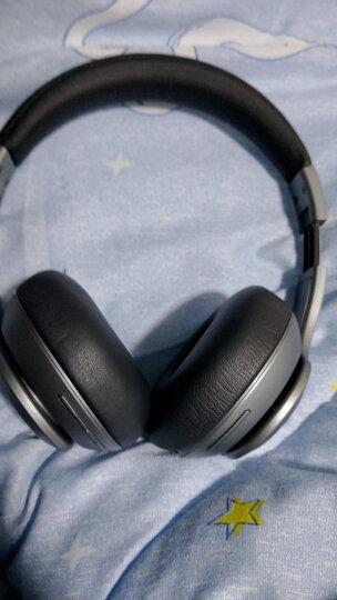 酷我(kuwo.cn)H1 头戴式无线蓝牙音乐耳机电脑笔记本游戏有线耳麦 典雅白 晒单图