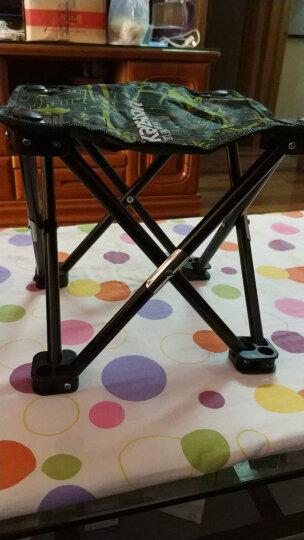 凯速折叠椅便携式小凳子 简易钓鱼椅 户外休闲马扎 多功能小马扎  迷彩绿 XMZ35 晒单图
