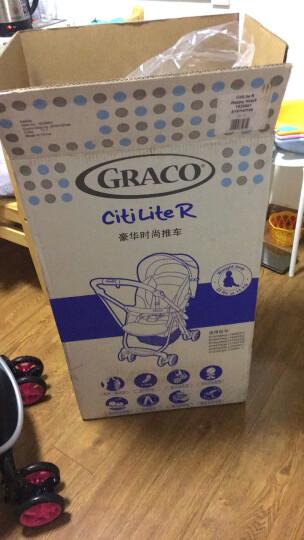 葛莱 GRACO婴儿推车 轻盈系列 超轻便捷 可躺可座 折叠避震伞车 6Y87玫红色 晒单图
