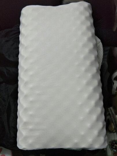 【一对装】福满园枕头 乳胶枕头 泰国天然乳胶枕 记忆枕 护颈椎枕橡胶枕 负离子颗粒枕 晒单图