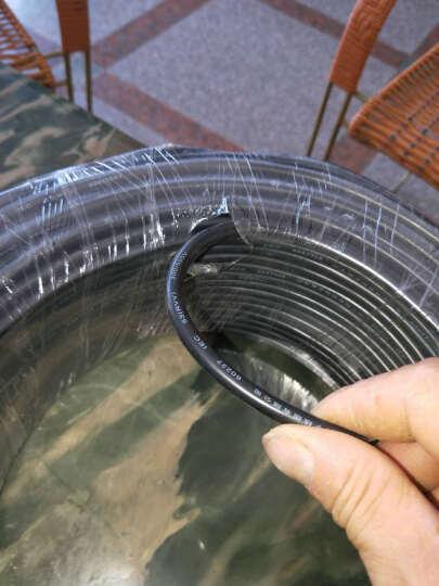 寰宇之星 RVV2*1.0平方电缆线二芯电线1.0平方两芯电源线国标铜线2芯护套线1.0室外电源线 白色 25米 晒单图