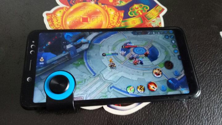 毕亚兹 游戏手柄 王者荣耀走位神器 手机游戏摇杆辅助按键 支持穿越火线吃鸡 苹果安卓手机通用 YX6-红 晒单图
