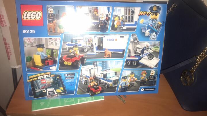 【乐高认证店】乐高(LEGO)积木玩具 城市系列 60137 追踪重型拖车 晒单图
