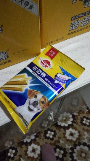宝路 宠物零食狗零食 成犬洁齿棒磨牙棒狗咬胶75g*12整盒装 晒单图