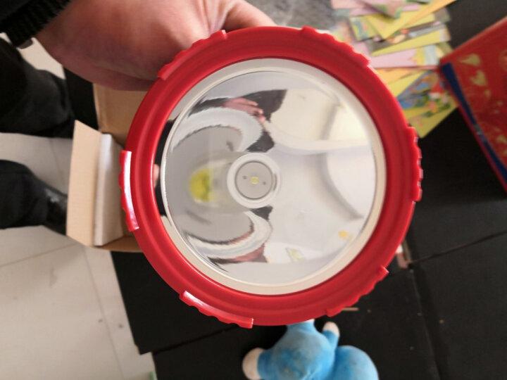 康铭  手电筒 探照灯强光远射充电矿灯 LED户外照明灯 电瓶灯 手提灯高亮度家用安防巡逻 升级版带侧灯5W4000MAH(2665) 晒单图