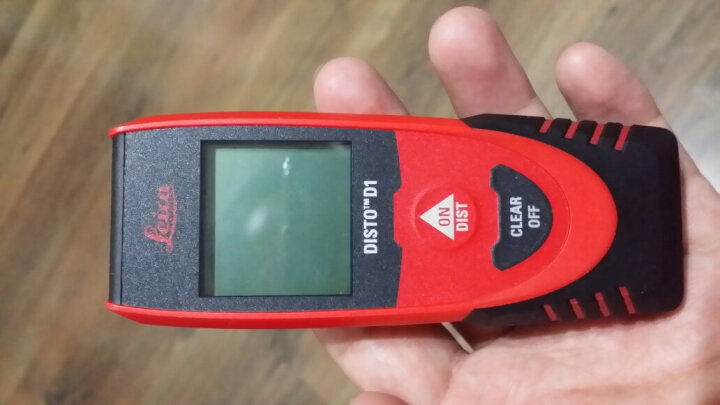 徕卡D1手持激光测距仪40米新款红外线电子尺Leica量房仪测量仪便携蓝牙款高精度莱卡测量距离小巧 晒单图