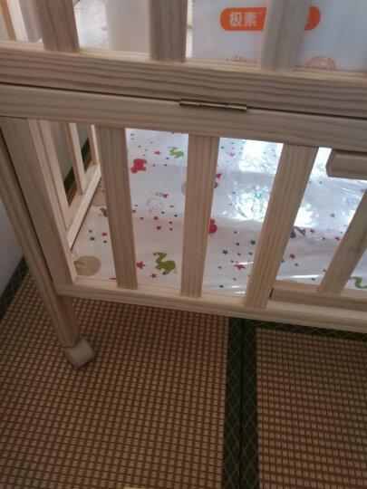 gb好孩子 多功能婴儿床环保实木拼接床摇篮婴儿床 MC306-J311 晒单图