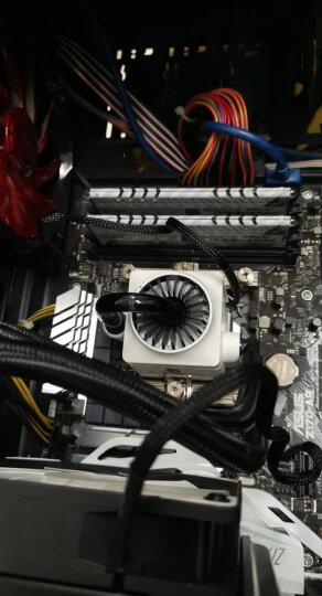 九州风神(DEEPCOOL)船长120(白)水冷CPU散热器 (多平台/发光呼吸灯/12CM风扇/智能温控/预涂硅脂/水冷) 晒单图