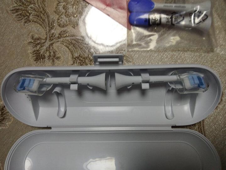 飞利浦(PHILIPS) 电动牙刷 成人声波震动(自带刷头*4+牙刷盒) 牙龈护理 HX6616/51 晒单图