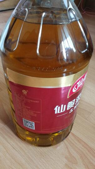 仙餐 非转基因食用油 压榨纯香熟香菜籽油5L 晒单图