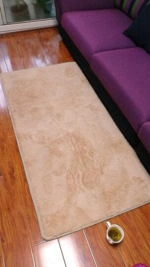 慕格 加厚地毯客厅卧室茶几地毯满铺床边室内长方形榻榻米毯 清新抹茶绿 120*160CM 晒单图