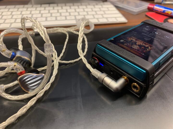 飞傲(FiiO) Q1二代 Q1MarKII 便携HiFi苹果DSD硬解码耳放电脑声卡 黑色 晒单图
