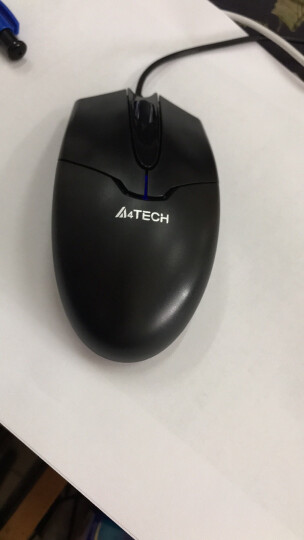 双飞燕(A4TECH) OP-550NU 鼠标 有线鼠标 办公鼠标 便携鼠标 对称鼠标 黑色 自营 晒单图