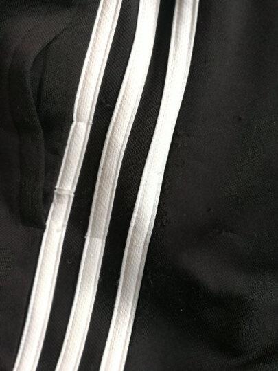 Adidas阿迪达斯男裤 2020夏季新款透运动裤休闲裤收口工装卫裤透气舒适三条纹长裤FP7487 DU0456/针织直筒 M(175/80A) 晒单图