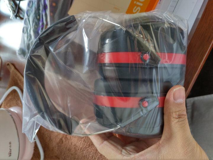 赛拓(SANTO)防噪音隔音耳罩 睡眠防护耳罩 工业劳防耳罩 射击打鼓自习车间防噪音耳罩1974 晒单图