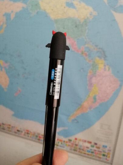 点石970可爱直液式换囊学生钢笔可擦黑色无印良品风格配4支墨囊装 计算器(随机选款) 晒单图