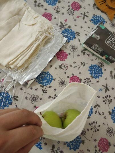 厨格格 煲汤袋煲鱼袋隔渣袋全棉纱布袋过滤袋炖肉调料袋 (18*20cm)20个 晒单图