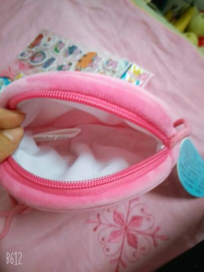 小猪佩奇啥是佩奇PeppaPig粉红猪小妹毛绒玩具3-6岁礼品乔治生日礼物背包小熊恐龙 佩奇圆形包 晒单图