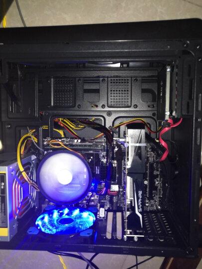 逆世界 i7 8700升十核/RX580 8G独显/16G内存吃鸡游戏台式电脑主机组装机送显示器套装 套餐一:十核/32G/480G/RX580 8G 晒单图