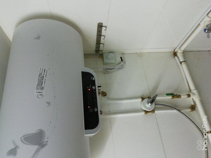 美的(Midea) 60升双管速热增容 洗澡淋浴 数显 电热水器F60-21WB3(S) 晒单图