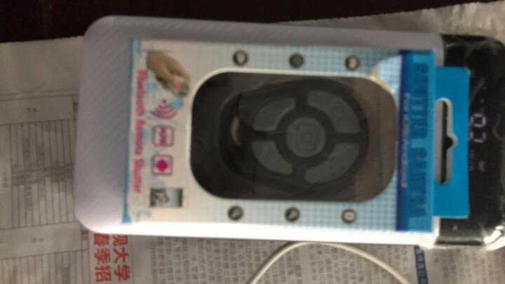 毕亚兹 无线蓝牙自拍杆/自拍器 带补光灯 通用苹果7plus手机/华为/oppo/魅族/华为 D46-金 晒单图