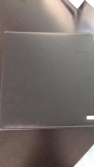 得力(deli)200袋(400枚)大容量活页硬皮名片册 办公名片卡包 棕色5793 晒单图