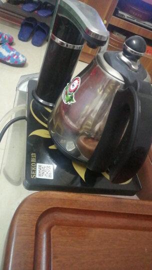 新功(SEKO) 电水壶全自动上水电热水壶保温开水壶304不锈钢烧水壶热水壶电茶壶N60 黑色 晒单图