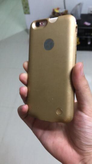 【次日达】泰火手机壳充电宝背夹电池苹果专用薄款无线移动电源iPhone6S/6plus 小屏4.7土豪金(iPhone 6/6S适用) 晒单图