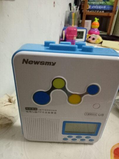 纽曼插卡复读机U8锂电版蓝色 卡带录音机中小学生磁带机英语教学用学习机中英文同步U盘转录mp3播放机可充电 晒单图