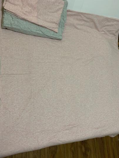 博洋家纺 床上用品 天竺棉床笠四件套全棉精梳针织棉单人双人床单被套三/四件套 昧 1.8米床 晒单图