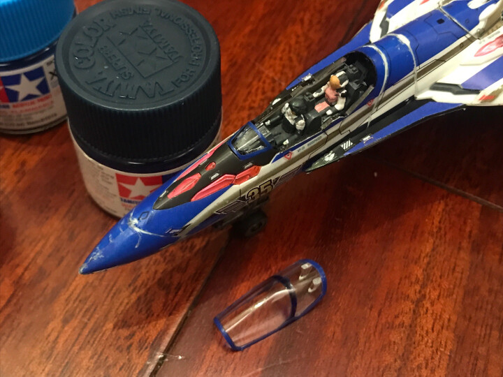 田宫油漆颜料 模型专用水性漆 X光泽系列 10ml X1-X24 X-13 光泽金属蓝 晒单图