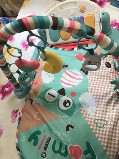 贝恩施 婴儿玩具 宝宝脚踏钢琴健身架 儿童音乐玩具 带遥控器B212 晒单图