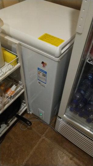海尔(Haier) 102升家用冰柜 冷藏冷冻转换柜 小型迷你冷柜 节能单温冰箱 BC/BD-102HT 晒单图