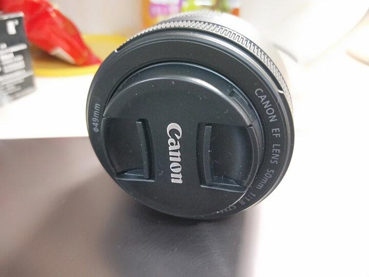 canon/佳能 EF 50mm f/1.8 STM 第三代小痰盂标准定焦人像镜头 标配 晒单图