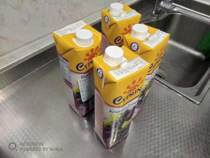地中海塞浦路斯进口 塞浦丽娜(Cyprina)橙汁100%纯果汁 1L*4瓶 果汁饮料 整箱 晒单图