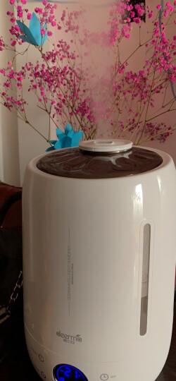 德尔玛(Deerma)加湿器 5L大容量 智能恒湿 家用卧室静音迷你空气增湿办公室香薰加湿 DEM-F500(升级版) 晒单图