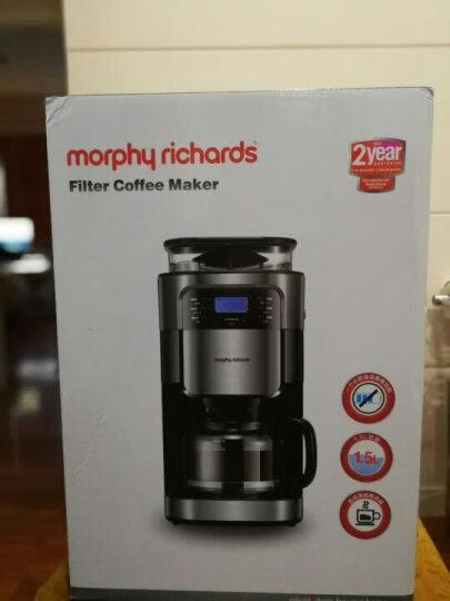 摩飞电器(Morphyrichards) MR1025 咖啡机 美式全自动咖啡机家用商用 黑色 晒单图
