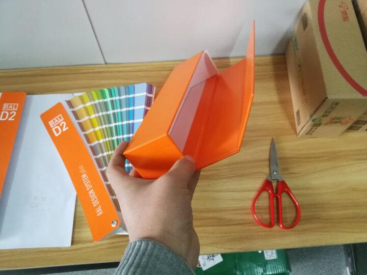 顺丰包邮2019新版 德国RAL D2劳尔国际标准色卡油漆CMYK色卡 设计师加强版1825种颜色  晒单图
