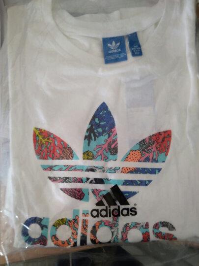 阿迪达斯adidas 官方 三叶草 女子 短袖上衣 白 BK2367 如图 36 晒单图